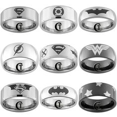 Superhero rings