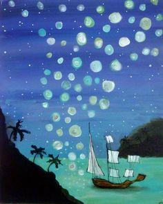 Dream Boat ORIGINAL Painting