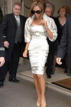 super style Victoria BECKHAM