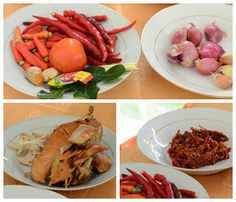 Indonesian Medan Food: Ayam Sisit (Balinese Shredded Chicken) Medan, Balinese, Shredded Chicken, Green Beans, Shrimp, Vegetables, Food, Meal, Balinese Cat