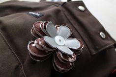 Pehmeä kukkaheijastin Diy And Crafts, Brooch, Sewing, Crafting, Jewelry, Ideas, Dressmaking, Jewlery, Couture