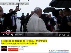Firmes en Cristo. : Bergoglio fue despedido de Polonia con música rock...