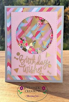 Such a Fun card created by  Sheena Joy Neptune using the September 2015 card kit by Simon Says Stamp.