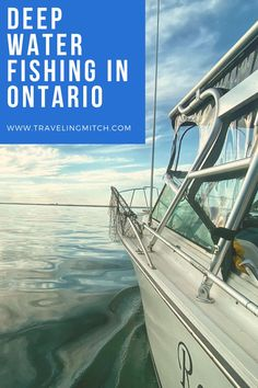 """Especially in Toronto, it can feel like you're quite far from good Ontario fishing. But, just a short drive away, in Port Whitby, you'll find """"The Reel Mistress,"""" which is one of the best Ontario fishing charters around. It's your ticket to quality fishing near Toronto. Vancouver Travel, Toronto Travel, Travel Guides, Travel Tips, Travel Destinations, Alberta Canada, Travel Pictures, Travel Photos, Visit York"""