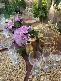 Las mesas , los detalles  Con bodas flores de Mallorca
