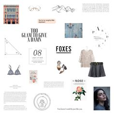 """darling, your love is more than worth its weight in gold"" by flowersforalice ❤ liked on Polyvore featuring WALL, Rifle Paper Co, Gat Rimon, Gérard Darel, Chicnova Fashion, Sir Oliver, Boden, GET LOST, Kane and country"