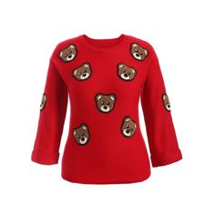 23.94$  Buy here - http://di58z.justgood.pw/go.php?t=201661102 - Bear Patched Plus Size Sweater