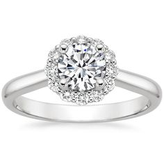 Top Twenty Engagement Rings - LOTUS FLOWER DIAMOND RING (1/3 CT. TW.)
