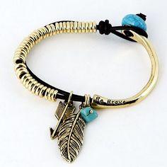 Bracelets By Vila Veloni Gold Be Brave