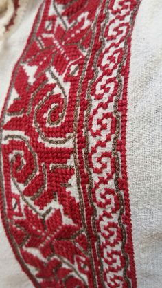 Folk Embroidery, Embroidery Patterns, Shirt Embroidery, Cross Stitch Floss, Palestinian Embroidery, Bargello, Bohemian Rug, Costumes, Crossstitch