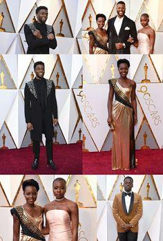 Black panther cast at Oscar 2018