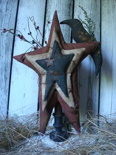 Primitive Americana Stars and Crow Make Do