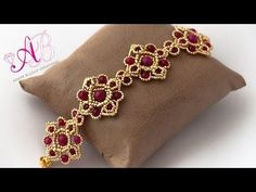 DIY Tutorial Bracciale G&G con perline e pietre di giada - Beadwork - YouTube