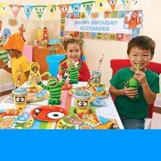 One of the coolest party planning websites. Super cute decorations!