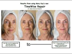 Do you want to take years of your face?!?!  These new products are amazing!  They smell and feel great and have unbelievable results!!!    Save money too - The MaryKay TimeWise Repair system is far cheaper than most other brands available.  Try it for free ~ three day sample via email.    To purchase ~ http://www.marykay.com/tammyd/