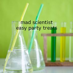 Mad scientist easy party treats