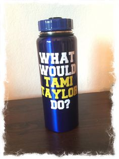 Or a water bottle that will also help you solve life's problems while keeping you hydrated on Friday nights.