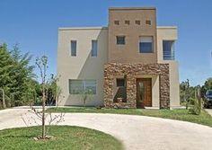 fachadas casas con piedra decorativa - Buscar con Google Style At Home, Exterior Colors, Exterior Design, Best Exterior House Paint, House Elevation, House Entrance, Facade House, House Painting, My House