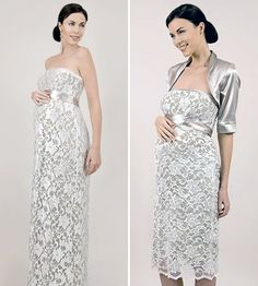 Wedding Gowns for the Pregnant Bride Pregnant Wedding Dress, Sexy Wedding Dresses, Wedding Gowns, Formal Dresses, Pregnant Brides, Maternity Wedding, Maternity Evening Gowns, Maternity Dresses, Evening Dresses
