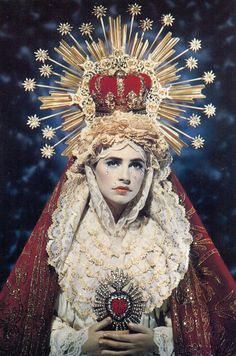 Madonna by Pierre & Gilles