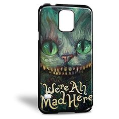 Cheshire Cat We're All Mad Here for Iphone and Samsung Case (Samsung S5 Black) Alice in Wonderland http://www.amazon.com/dp/B017GBU01Y/ref=cm_sw_r_pi_dp_3xmowb0FWPSH4