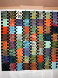 52 Quilts in 52 Weeks  could use a jelly roll