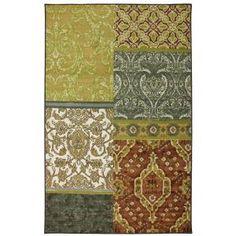 Shaw Living Suzani Area Rug Dark Brown Rugs On Carpet