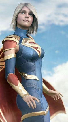 Laura Bailey Supergirl from Injustice 2 Supergirl Comic, Injustice 2 Supergirl, Injustice 2 Batman, Heros Comics, Comics Girls, Dc Heroes, Marvel Dc Comics, Comic Book Characters, Super Girls