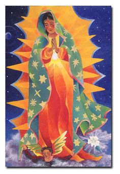 Our Lady of Guadalupe by Brother Mickey McGrath, OSFS