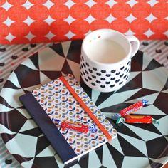carnet petites fleurs Mr&Mrs Clynk - deco-graphic.com