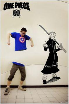 Trafalgar Law Manga One Piece 3d Art Drawing, Art Drawings, Yuri, Iron Man, Otaku, Spiderman, Dc Anime, Anime Art, Perspective Art