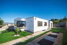 Casas en Villa Alemana Modelo Minimalista. 3 Dormitorios 350 m2 de terreno.