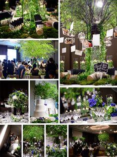 Forest GALLERY YUKO KUROSAWA Wedding and Party Desiger