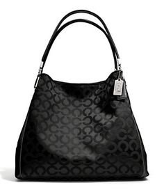 COACH MADISON SMALL PHOEBE SHOULDER BAG IN OP ART SATEEN FABRIC | Dillard's Mobile