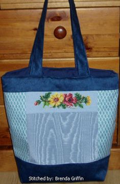 Flowers - Free Online Pattern - Example of use.