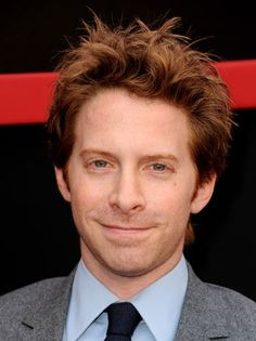 Seth Green...which is the opposite of red.