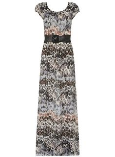 Billie & Blossom Feather maxi dress