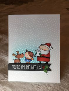 Xmas Cards, Diy Cards, Handmade Cards, Homemade Christmas Cards, Handmade Christmas, Mft Stamps, Jingle All The Way, Winter Cards, Card Maker