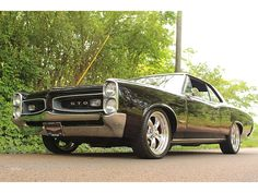 1966 Pontiac GTO 400 V8 Black Beauty (Good times were had by all.)