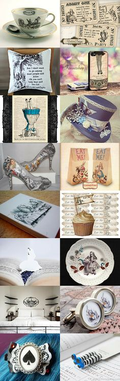 We are all mad here by Alexa Brains on Etsy--Pinned with TreasuryPin.com