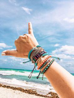 Hippie Bracelets, Beach Bracelets, Pura Vida Bracelets, Summer Bracelets, Cute Bracelets, Macrame Bracelets, Summer Jewelry, Cute Jewelry, Boho Jewelry