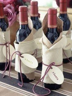"""ちょっぴり大人な贈り物""""ワイン、シャンパン""""ボトルのラッピングアイデア - NAVER まとめ"""