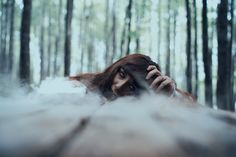 """""""Dark Presence"""" — Photographer: Michele Maglio – Mic Photo Makeup: Silvia Make-up Artist Model: Quarti di Stelle Assistant: Il Fabiuz"""