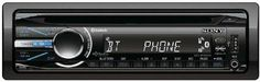Sony MEX-BT3800U In-Dash CD Receiver MP3/WMA/AAC Player with Bluetooth by Sony. $124.99. Amazon.com                Sony's MEX-BT3800U is a great way to add Bluetooth and media power to your vehicle, with 52 Watts through four channels. Make hands-free calls or stream audio from your compatible devices. You can also play back CDs and CD-R/RWs, along with MP3/WMA/AAC files. A front auxiliary input is great for connecting external devices, and you can enjoy full iPod control ...