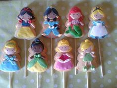 Adorable Disney Princess cookies!