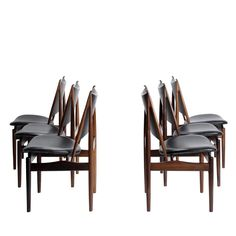 Finn Juhl // Niels Vodder // Egyptian chair // Rosewood