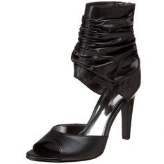 CARLOS Carlos Santana NIGHTLIFE Black Sexy Sandal Stiletto Heels 9.5 10 NEW  #CARLOSbyCarlosSantana #PumpsClassics