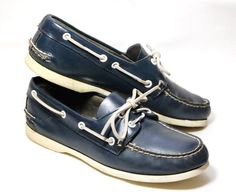 Here are the Sperry Topsiders all the well-dressed preppies wore in the 70s. I know. I was there. Ramenzombie has an assortment of  shoes for those of you who still haven't recovered.