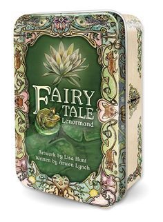 The more beautiful tin design by Lisa Hunt. Coming soon from U.S. Games