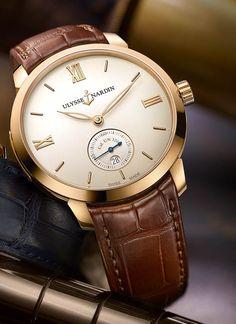 La Cote des Montres   La montre Ulysse Nardin Classico Manufacture - Ulysse  Nardin lance le 4cc8ee9a889